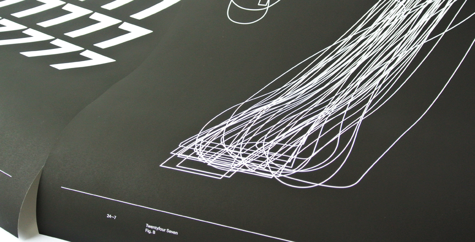 Sans Form 24–7 posters detail