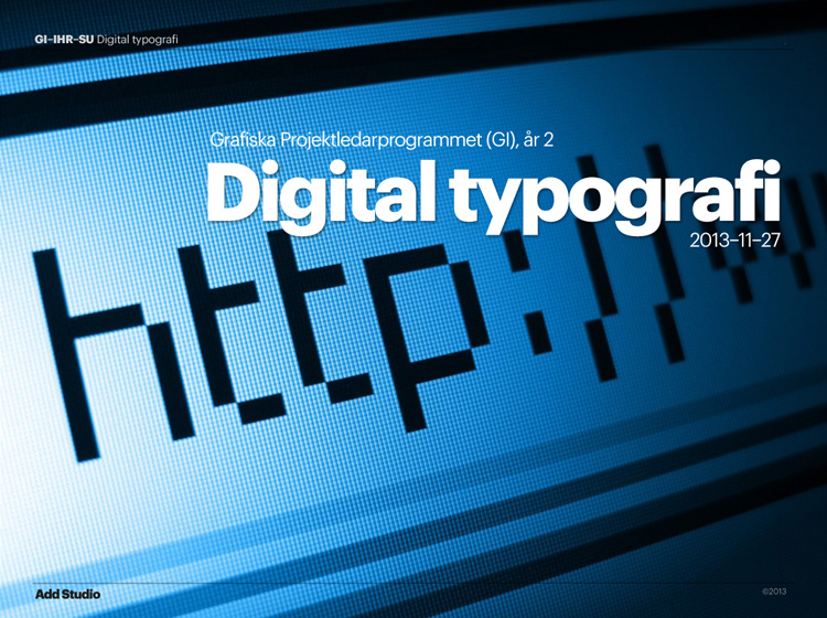 typography-lecture