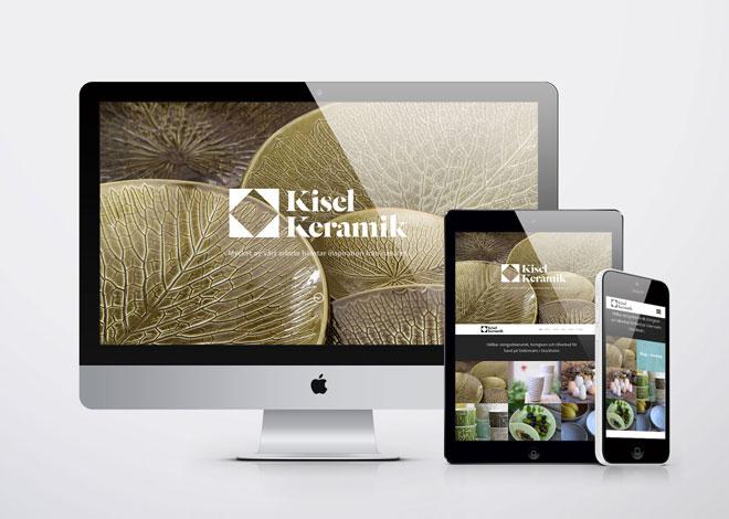 Kisel Keramik Responsive Website
