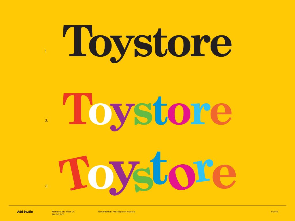 Explaining typography to kids