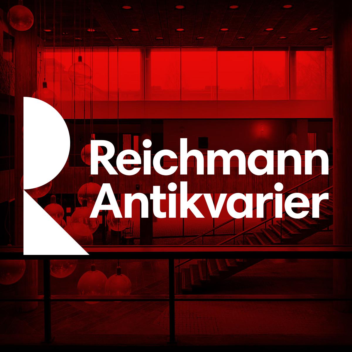 Reichmann Antikvarier logotype